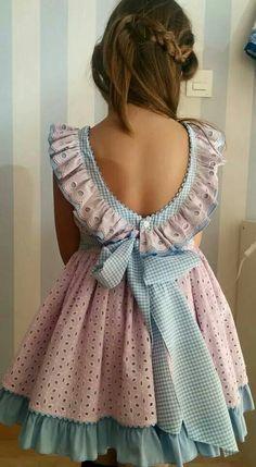 Resultado de imagen para Vestidos criança com tecido da burberry