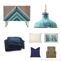 Decor Inspiration Featuring Sideboard Industrial Pendant Lighting Crate And Barrel Blanket And Taupe Bedding From August 2016 #home #decor
