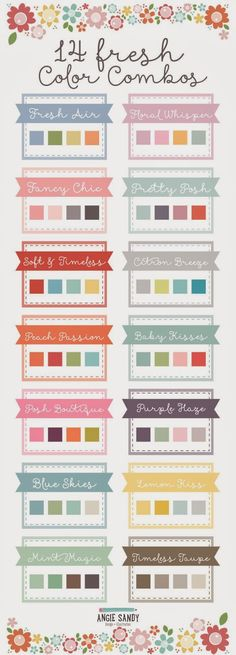 Perfect Color Combinations perfect colour combination ideas. i've been looking everywhere for