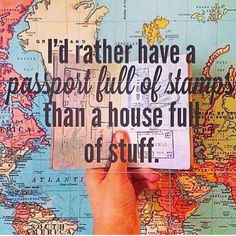 I love traveling abroad! Where do you like to go? #travelquote...  Instagram travelquote