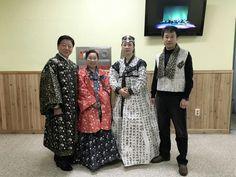 paper hanbok (made out of morden hanji ; dress models: good teachers ;hanji-korean traditional paperl