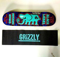 Bells Beach  - Shape Black Label pro model Omar Hassan - Lixa Grizzly Blue #skateboard #skatelife #skate #skateboarding #skateshop #kit #deck #griptape #bellsbeachsp #bellsbeach #brasil #sp #store #maple #blue #grizzlygang #supportyourlocalskateshop by bellsbeach_11 http://ift.tt/1KnoFsa