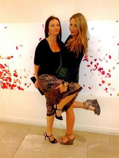 With the gorgeous Breccia Demartini! Public Profile, Capri Pants, Fashion, Moda, Capri Trousers, La Mode, Fasion, Fashion Models, Trendy Fashion