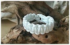 """All white! Paracord bracelet  """"California"""""""