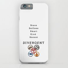 Buy DIVERGENT - ALL FACTIONS by MarcoMellark as a high quality iPhone & iPod Case. Worldwide shipping available at Society6.com. Just one of millions of…