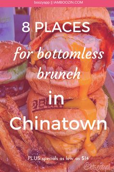 DC Brunch   8 Places For Bottomless Bunch In Chinatown PLUS where to find specials as low as $14...Click through for more! Bottomless Mimosas, Bloody Mary Bar, Chicken And Waffles, Hot Dog Buns, Washington Dc, Buffet, Breakfast Recipes, Travel Tips, Bacon