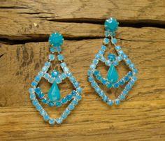 Ombre Crystal Earrings