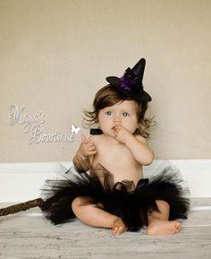 Black Tutu - Witch Tutu - Halloween Tutu - Witch Costume - Tutu - Baby Tutu - Newborn Tutu