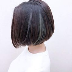 Nice Ideas for Short Straight Hairstyles for 2020 - Long Bob Hairstyles 2019 Work Hairstyles, Haircuts For Long Hair, Bride Hairstyles, Straight Hairstyles, Short Straight Haircut, Short Hair Cuts, Straight Bob, Styles Courts, Androgynous Haircut