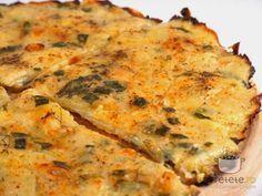 Tarta de cartofi si dovlecei cu ceapa verde. Imagini pas cu pas pentru tarta de cartofi si dovlecei cu ceapa verde