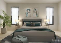 #interiordesign #edesign #edesigner #interiordesigner #newzealand #homedecor #homedecorideas #auckland #homeideas #diy #homeinspo #bedroom #asianinfluence #asianinterior #asianinspired #tealbedroom #coohom