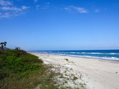 Beach in Indialantic, FL