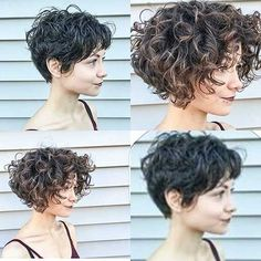 20+ Must-See Short Curly Hair Ideas You will Love | The Best Short Hairstyles for Women 2016