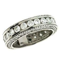 S. Kashi  & Sons White Gold Eternity Ring