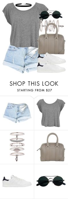 """""""Style #10917"""" by vany-alvarado ❤ liked on Polyvore featuring Luv Aj, Givenchy and adidas Originals"""