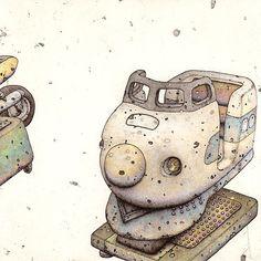 山本拳志的插畫 YAMAMOTO TAKASHI
