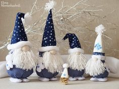 Easy gnomes diy learn how to make them today – ArtofitScandinavian Christmas decoration Gnomes and deer Nordic Cadorable Christmas gnome in white with mint-green hat and mittens, carrying a white Christmas tree - SalvabraniNo Decora's media content Christmas Gnome, Christmas Projects, Handmade Christmas, Christmas Ornaments, Pink Christmas Decorations, Tree Decorations, Scandinavian Christmas, Holiday Crafts, Holiday Decor