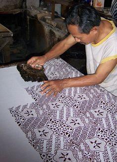 """Indonesian Art of textile """"Batik"""""""