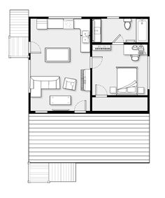 1000 images about garage apartment guest house on for 30x30 garage with apartment