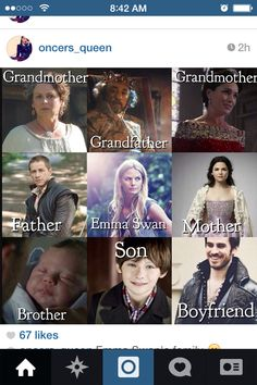 Wait so if snows step mom is Regina and snow is Emma's mom then doesn't that make Regina Emma's step grandmaw .... I just blew my mind