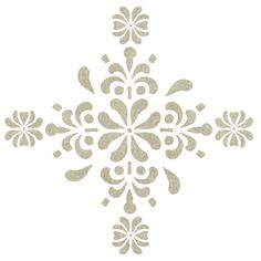 You can use this Antique Accent Stencil to create your own patterns all over your wall or Floor. Quickly and easily create an antique, historical ambience in your home!