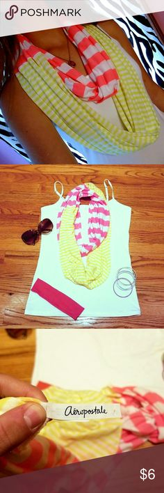 Aeropostal infinity scarf Summer Accessory! Soft! In like new condition. Wearn once. No stains or defects. Aeropostale Accessories Scarves & Wraps