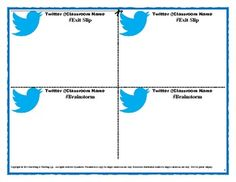 Blank Twitter Feed Template Twitter template | first grade ...