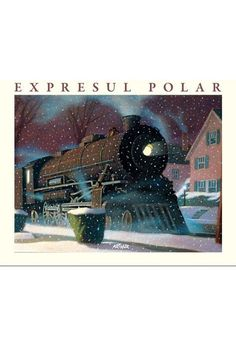 The Polar Express book. I remember being read this when I was little at the children's group in the library. Polar Express Party, Polar Express Book, Christmas Books For Kids, Christmas Pictures, Christmas Fun, Beautiful Christmas, Polish Christmas, Christmas Cards, Polaroid