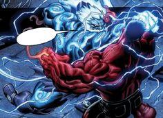 Thor Vs. Red Hulk