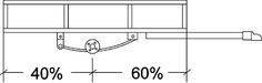 This web site shows you where the axle should be located, helpful if you are thinking about designing a DIY camp trailer.