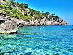 Cala Deià en Deià, Islas Baleares