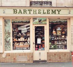 Loja de queijos Barthélémy em Paris