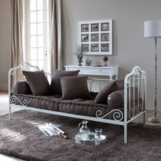 Would be a cute guest bedroom/reading nook!