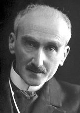 Henri-Louis Bergson (1859-1941). French philosopher influential especially in the 1st half of the 20th century. 'Immediate experience and intuition are more significant than rationalism and science for understanding reality'. Futurist painter/sculptor Boccioni was interested in his teachings.