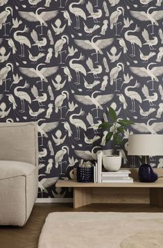 Print and pattern | New nature inspired wallpaper by Katie Scott for ferm LIVING… | Accessorize your Home