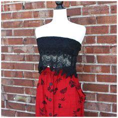 Bandeau neuf de style boho fait en dentelle | Mlle Frivole Style Boho, Candy S, Bandeau, Cotton Candy, Strapless Dress, Boutique, Dresses, Fashion, Lace
