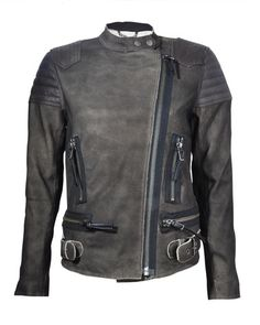 Cult Biker Jacket (Khaki)   Bolongaro Trevor