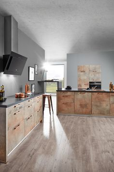 k chentrend kupfer k cheninsel mit kupfer oberfl chen kupfer k che pinterest. Black Bedroom Furniture Sets. Home Design Ideas