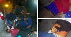 La noche de este viernes, a través de la red social Twitter, reportaron el linchamiento de 3 delincuentes que robaron la cartera a una mujer en Los Palos G