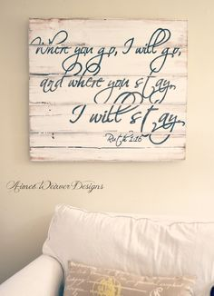 one of my favorite Bible verses. would love this for our home!