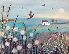 'Autumn Morning'  Jo Grundy