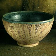 Bowl with Sumac by leavesofclay on Etsy