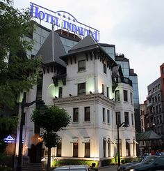 #Indautxu hotel Bilbao, Barbados, Places Ive Been, Dots, Europe, Mansions, Nice, Old Pictures, Hotels