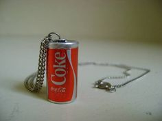 Mini Coke Can Necklace