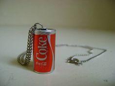 Mini Coke Can Necklace