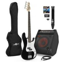 Gear4Music LA Bass Guitar   80W Power Pack Black The LA Bass Guitar   80W Power Pack by Gear4music is ideal for those looking to make the move to playing gigs. Featuring our superb LA Bass Guitar in Black this pack comes complete with an 80W RedSub  http://www.comparestoreprices.co.uk/bass-guitars/gear4music-la-bass-guitar- -80w-power-pack-black.asp