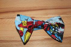selfmade superhero bow-tie