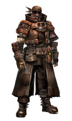 Steampunk/fantasy armour Base concept of what I imagine Freeman to look like. Freeman would need a muzzle lol Post Apocalypse, Apocalypse Armor, Apocalypse Character, Steampunk Characters, Fantasy Characters, Armor Concept, Concept Art, Character Portraits, Character Art