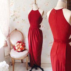 Abdelarda www.1861.ca #boutique1861 #montreal #fallfashion #burgundy #cocktaildress #lookbook