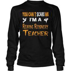 Perfect Gift For Reading Recovery Teacher On Halloween, Order HERE ==> https://www.sunfrog.com/LifeStyle/Perfect-Gift-For-Reading-Recovery-Teacher-On-Halloween.html?41088